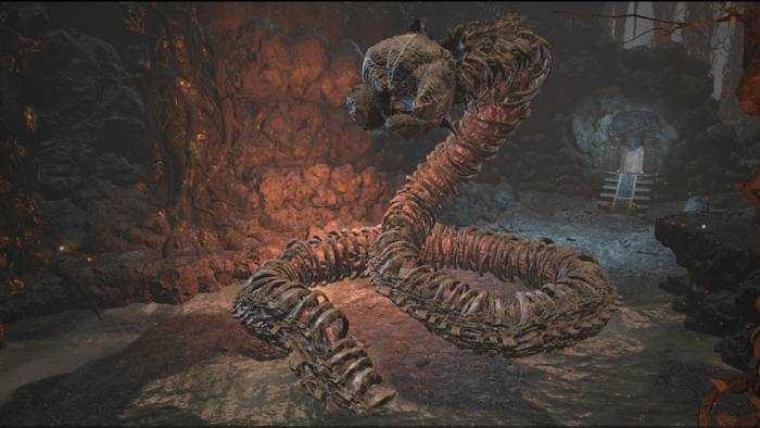 Dark Souls 3 Carthus Sandworm