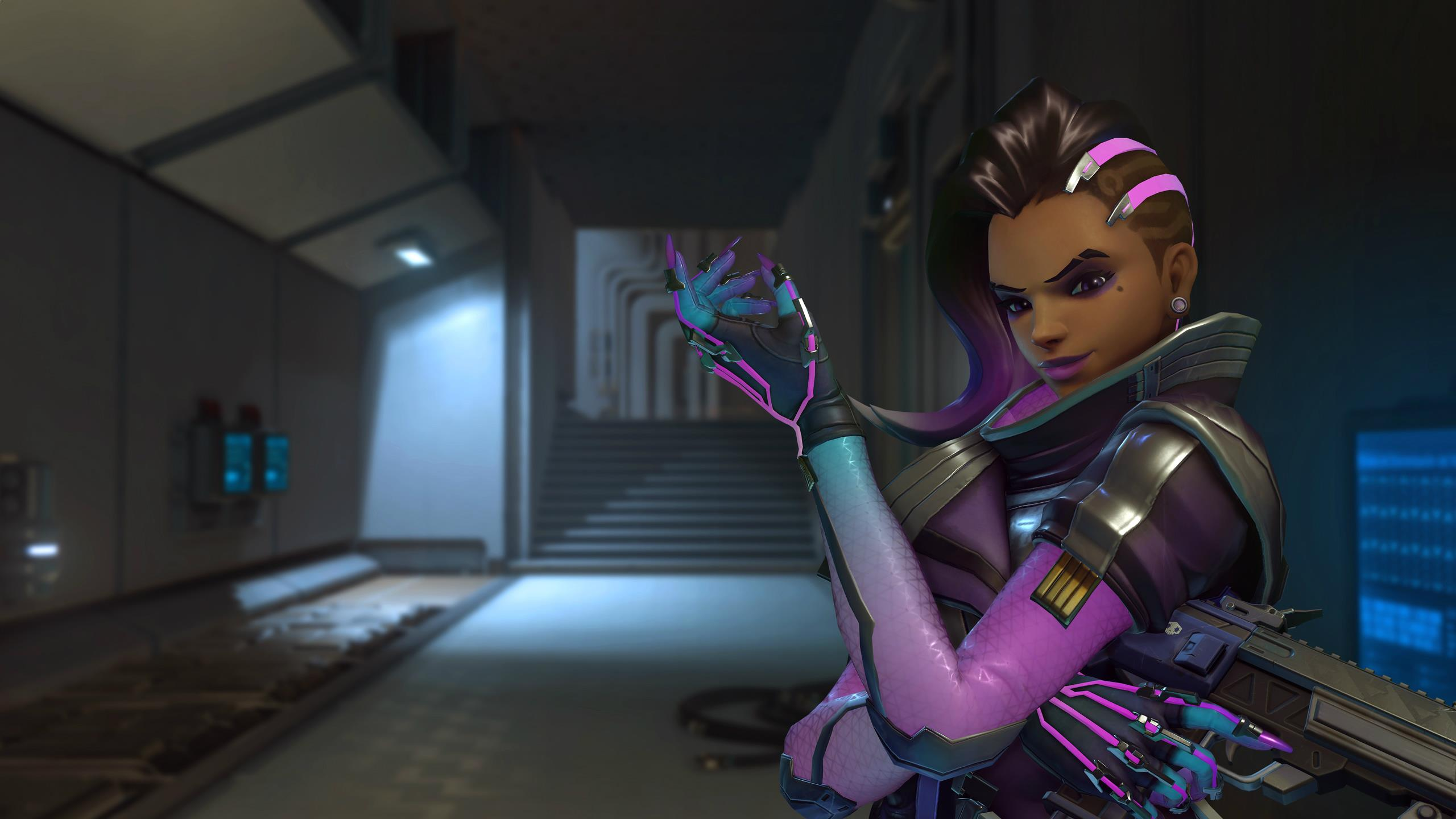 Blizzard reveals Sombra after a long wait