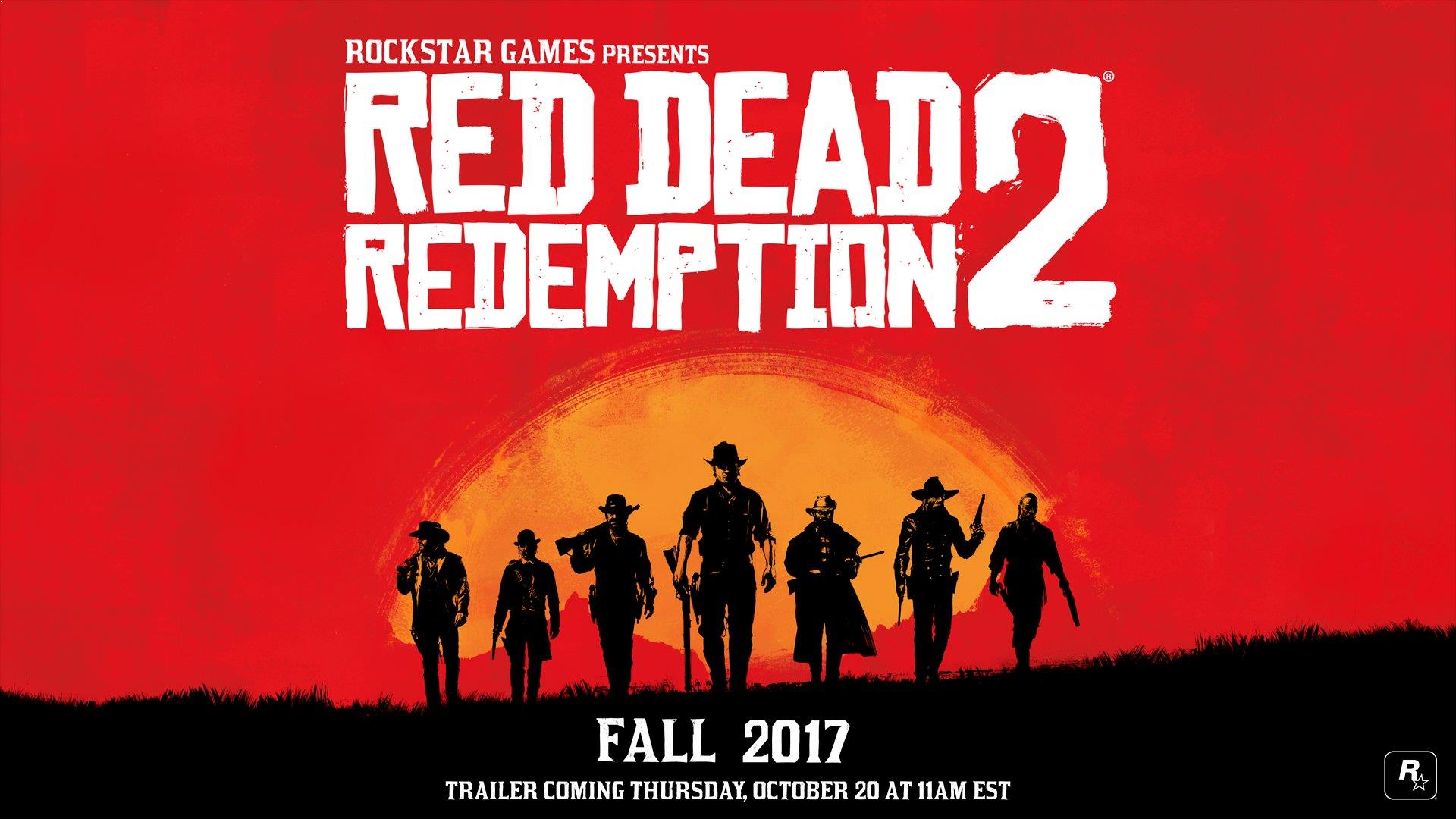 The release time of Red Dead Redemption 2 announced