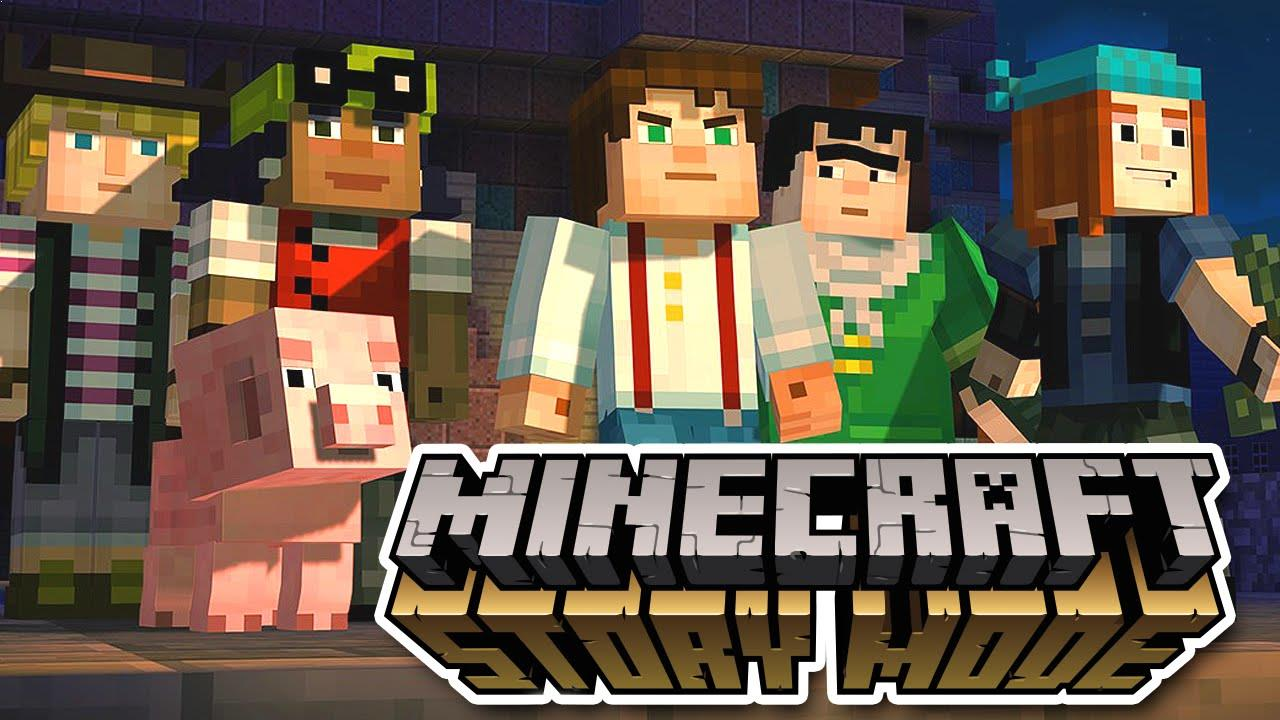 The first episode of Minecraft Story Mode available for free