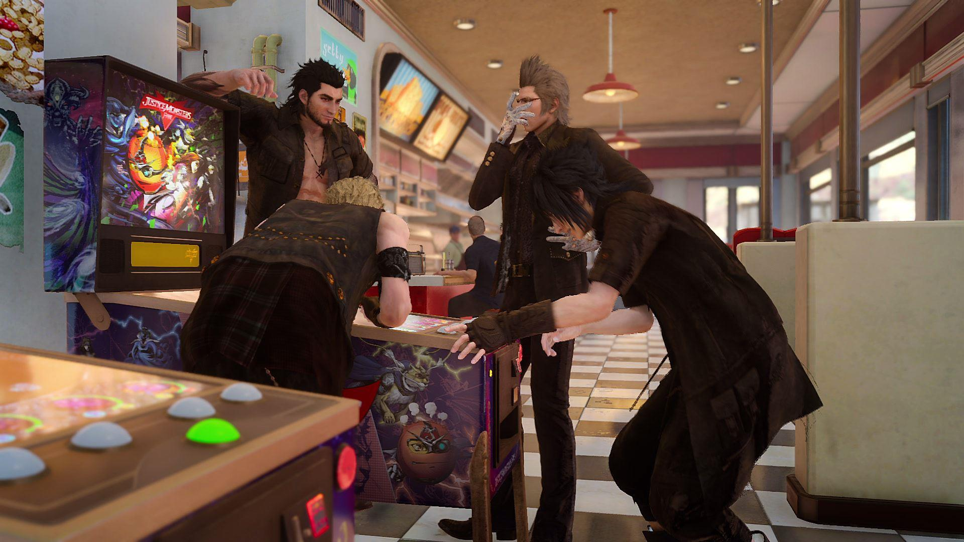 DLC and game mode reveals for Final Fantasy XV
