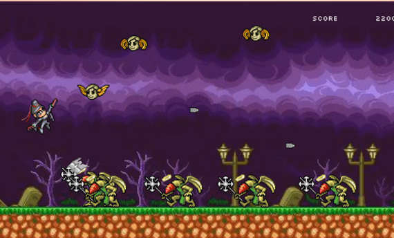 8-Bit Bayonetta released on Steam