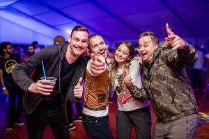 employees of G2A down to party