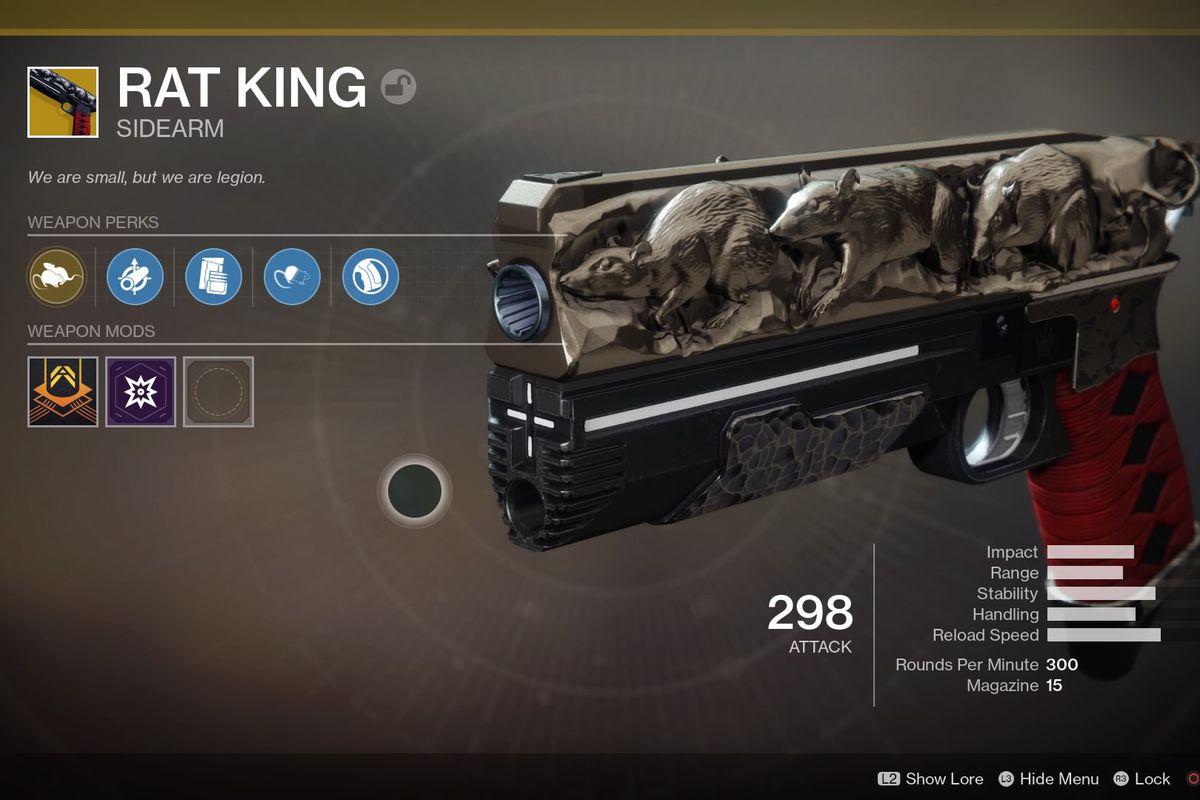 Destiny 2 Rat King