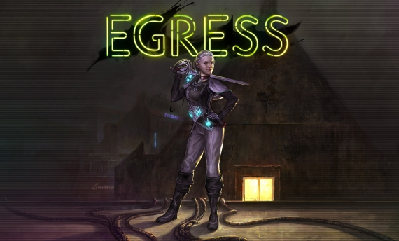 Egress Cover Poster