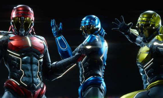 Final Fantasy XV characters are going Power Rangers style