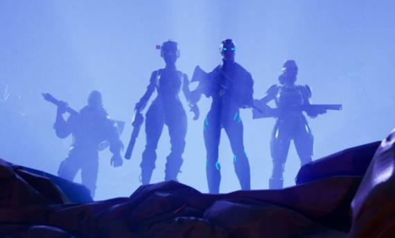 Fornite season 4, Forntite comet, Fortnite Blockbuster Event
