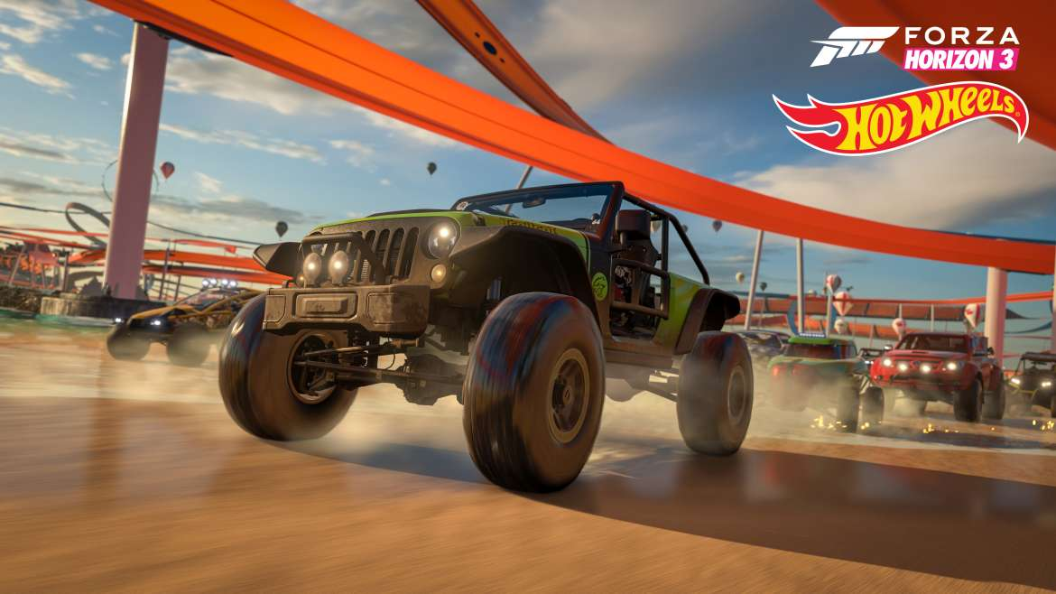 Forza Horizon 3 gets a Hot Wheels expansion in May - G2A News