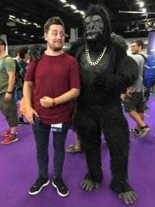 gamescom 2018 gorilla cosplay
