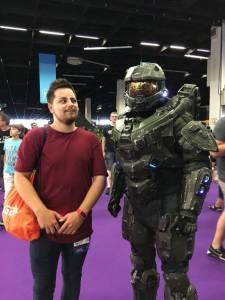 gamescom 2018 halo master chief cosplay