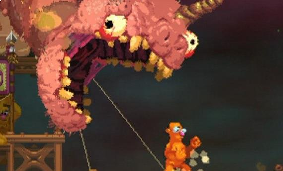 Nidhogg 2 new colorful art style explained