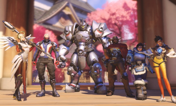 The Looking for Group feature of Overwatch is a hit