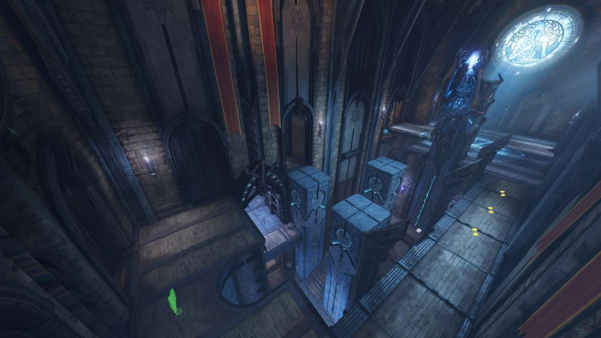 Take a look at Blood Covenant map from Quake Champions - G2A