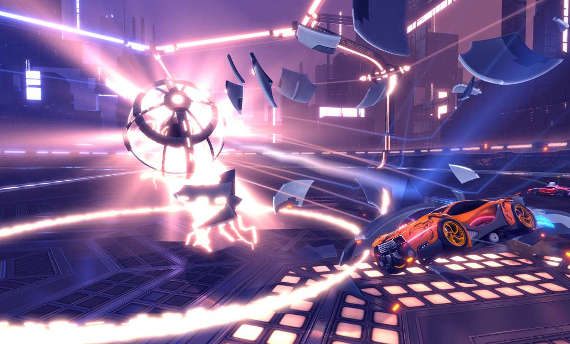 Rocket League will receive a free Dropshot mode