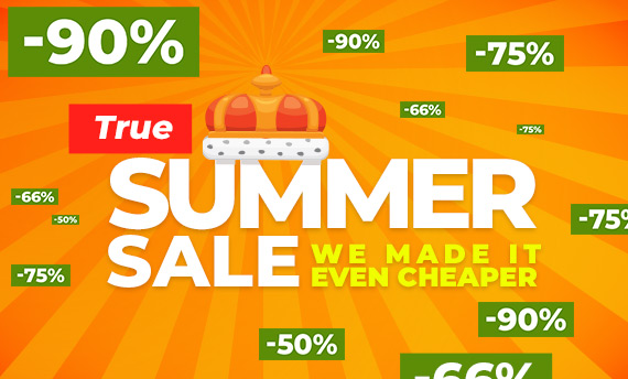 G2A's True Summer Sale starts today!