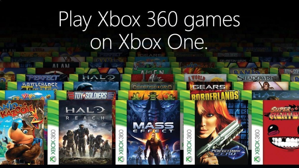 Xbox One Backwards Compatibility Page