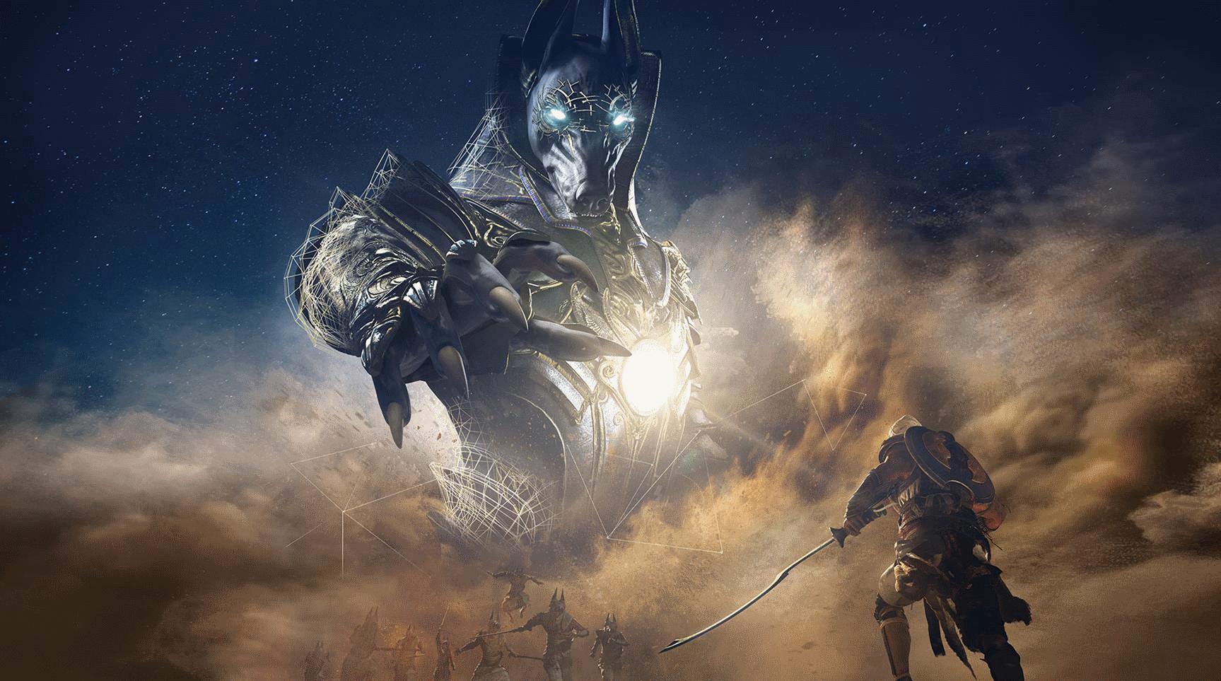 Facing Anubis in Assassin's Creed Origins