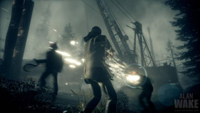 Shooting in Alan Wake PC Game