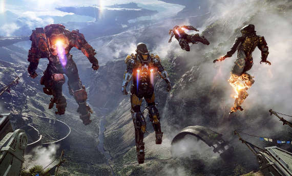 Anthem is BioWare's next IP