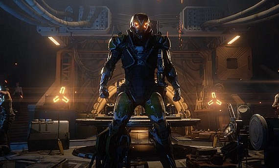 Anthem is the new IP from BioWare