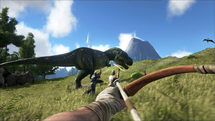 Ark survival video game cooperative game