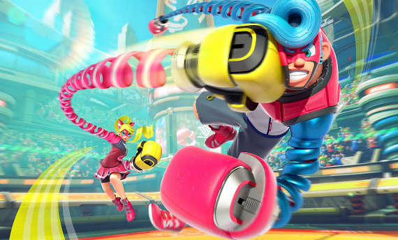 Arms for Nintendo Switch gets its first TV commercial
