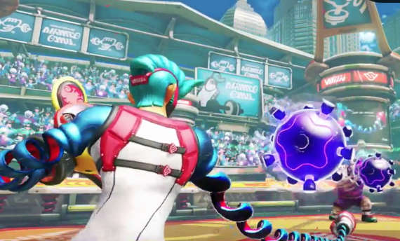 New Arms trailers introduce weapons and characters