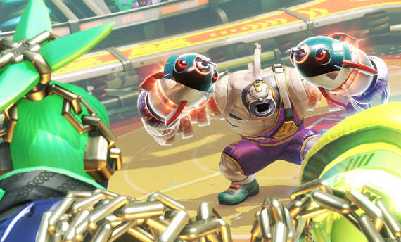 The boss of Arms will be a playable character soon