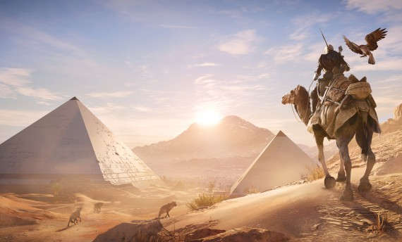 See Assassin's Creed: Origins in action on an Xbox One X