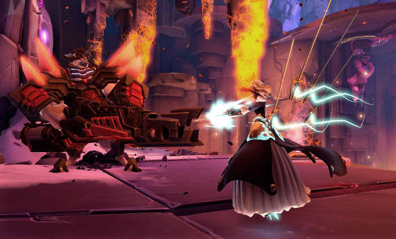 Fourth story DLC for Battleborn is available