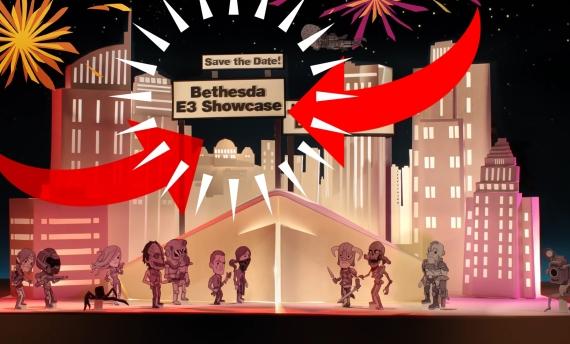 E3 2018 Bethesda sign