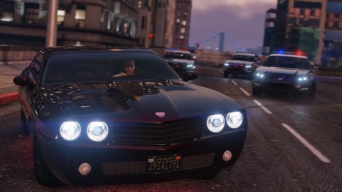 grand theft auto 5 car pursuit