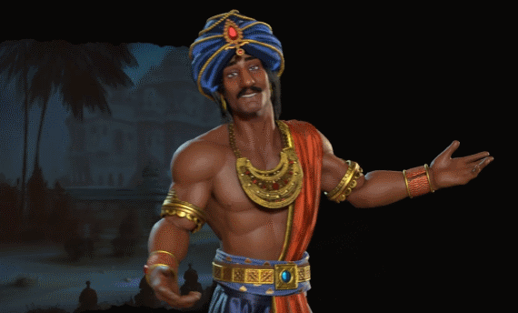 Next Civilization 6 leader is from India