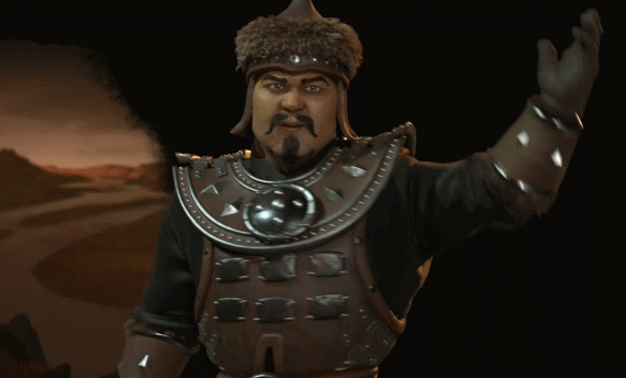 Genghis Khan is Civilization VI's new leader