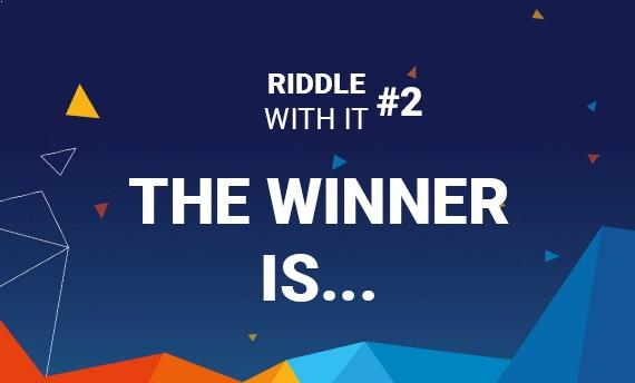 Riddle with it #2 Winners