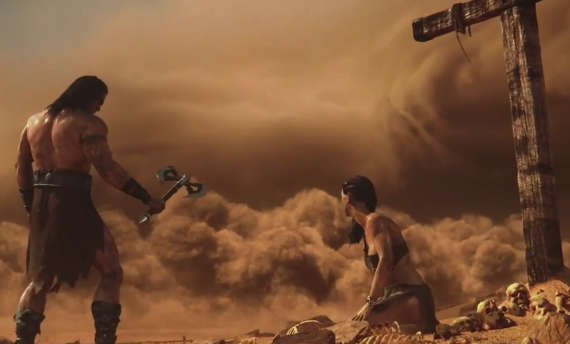 Conan Exiles prepares for launch with cinematic trailer