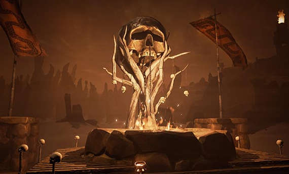 Conan Exiles gets a new dungeon thanks to the latest update