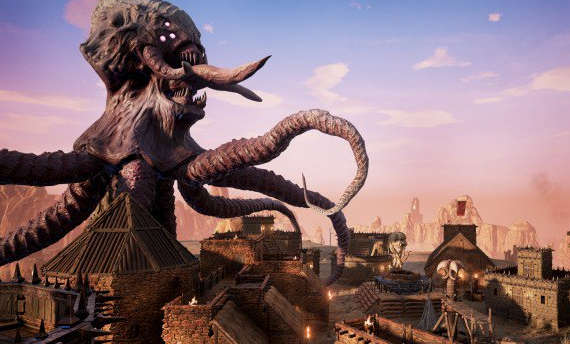 Conan Exiles is all about creatures and combat