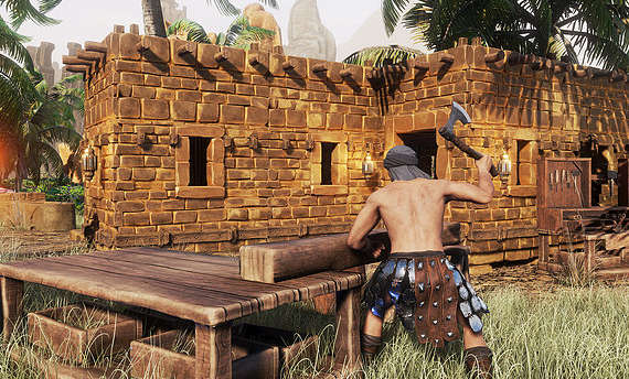 Player servers and mods coming to Conan Exiles