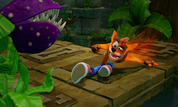 Watch a refreshed gameplay from Crash Bandicoot 2