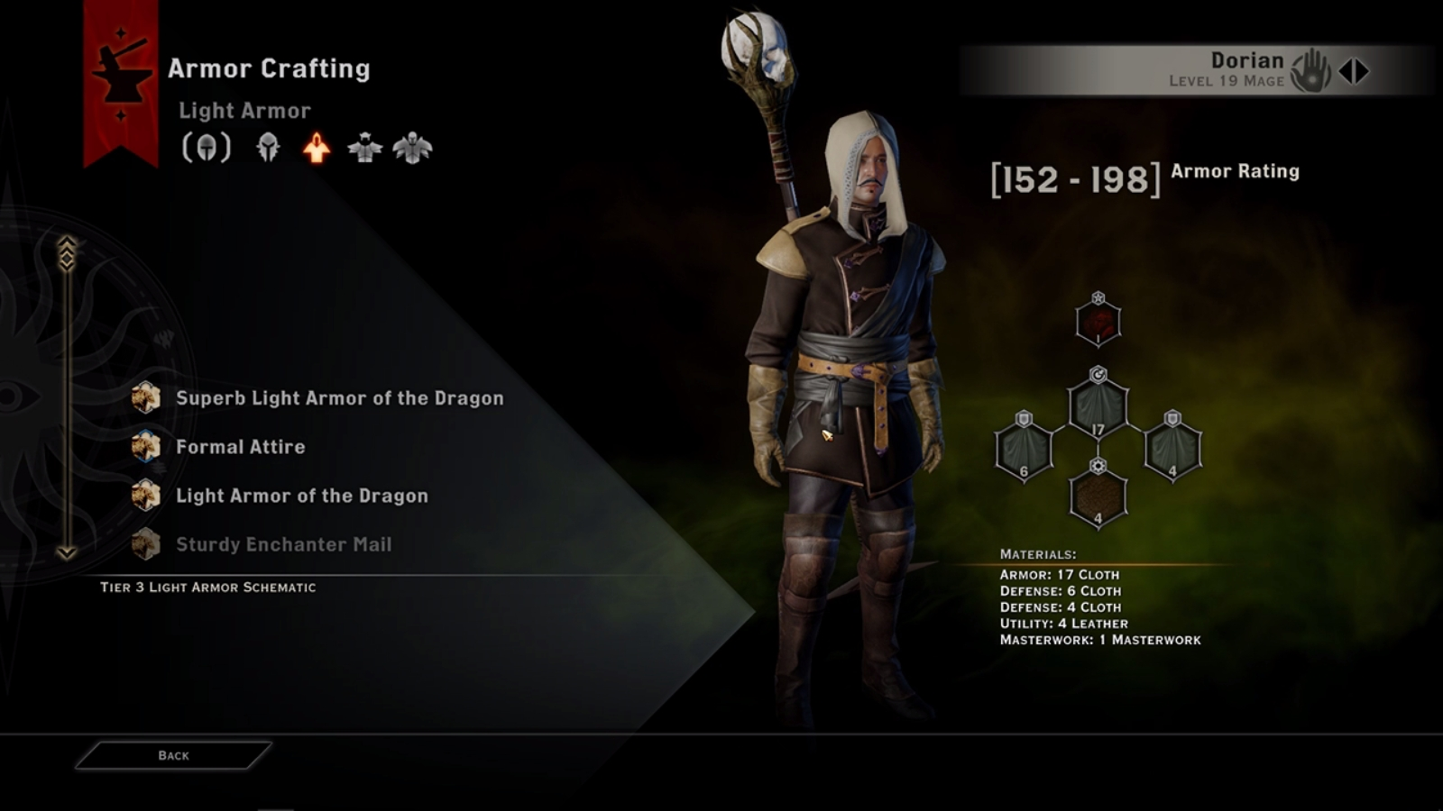 dragon age inquisition crafting system