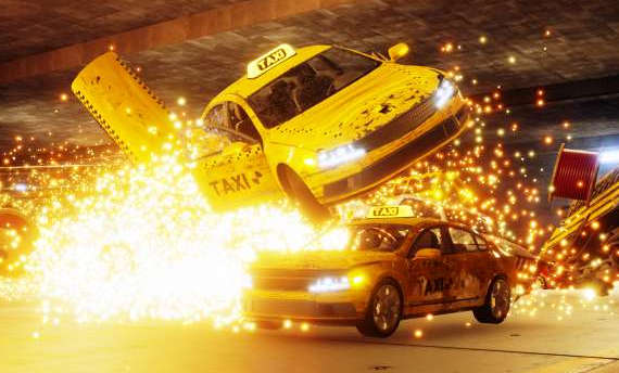 Danger Zone from the creators of Burnout announced