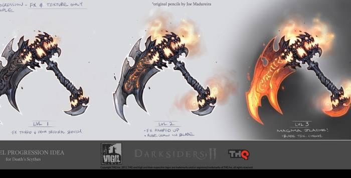 Darksiders 2 possessed weapons