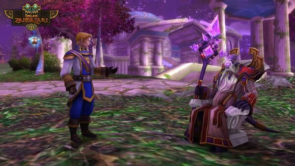 Anduin Wrynn and Velen WoW
