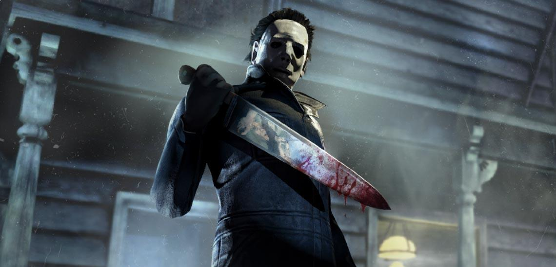 Michael Myers comes to Dead by Daylight today