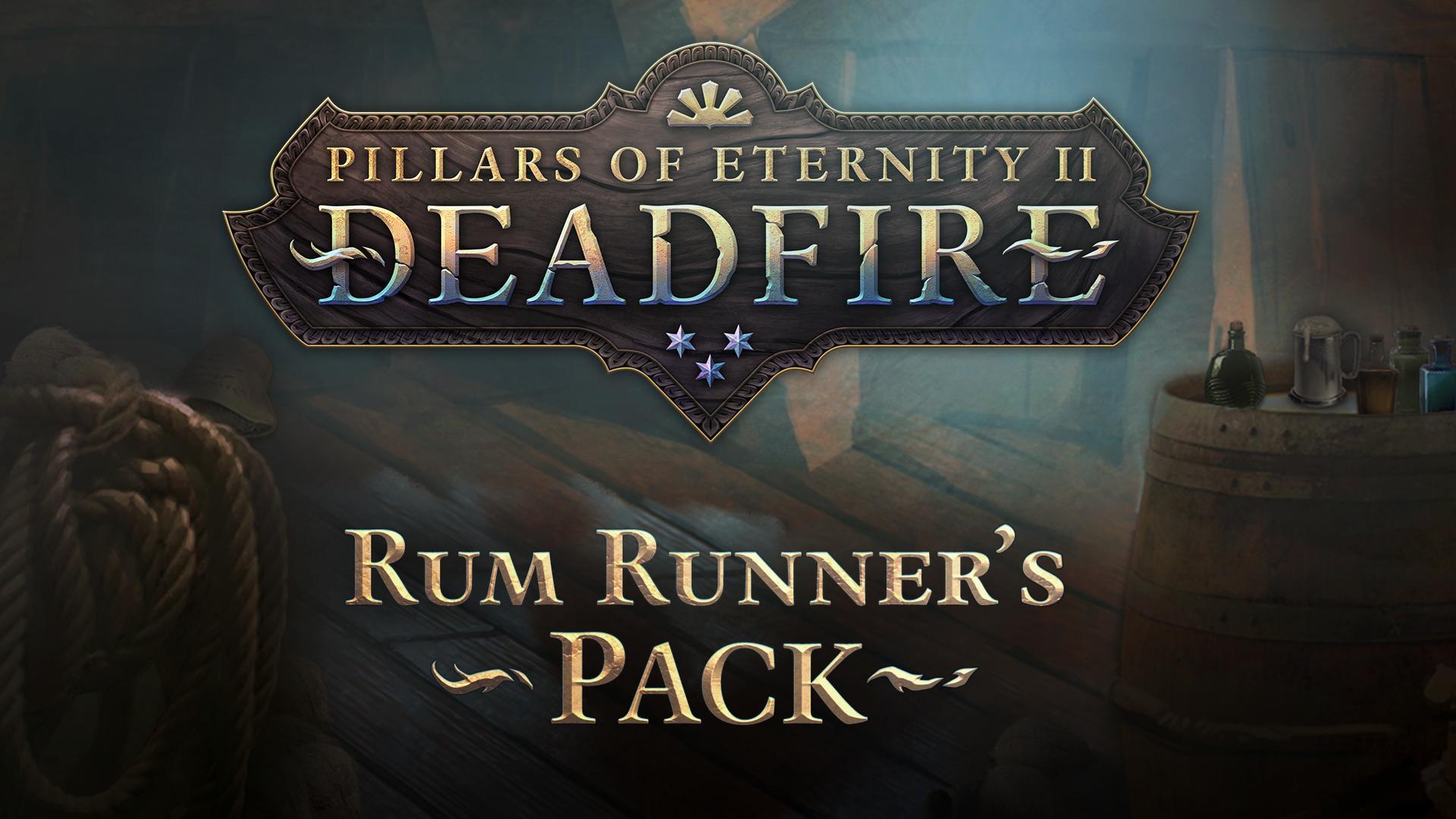 PoE 2: Deadfire Rum Runner Pack