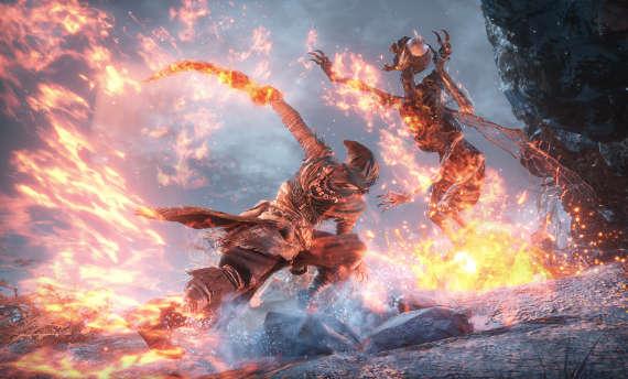 Screenshots and artwork from Dark Souls III's final DLC revealed