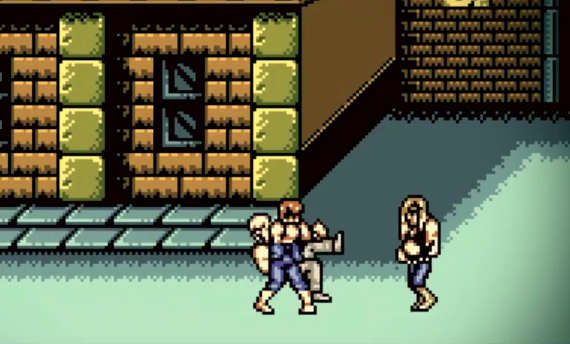 Double Dragon IV announced