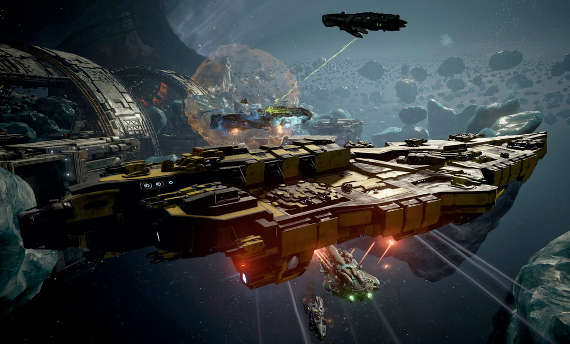 You can test Dreadnought in the open beta on PC