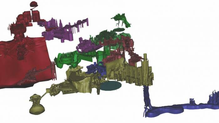 Dark Souls 3D Map